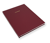 hardbound log books