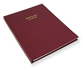 hardbound maintenance log books